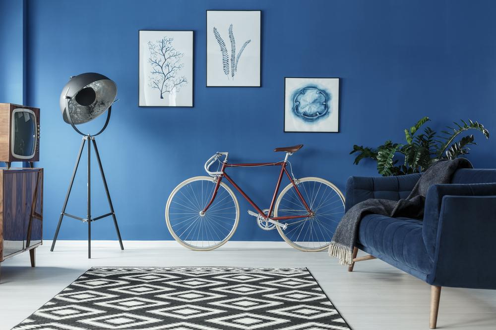 La couleur bleue nuances, symbolique