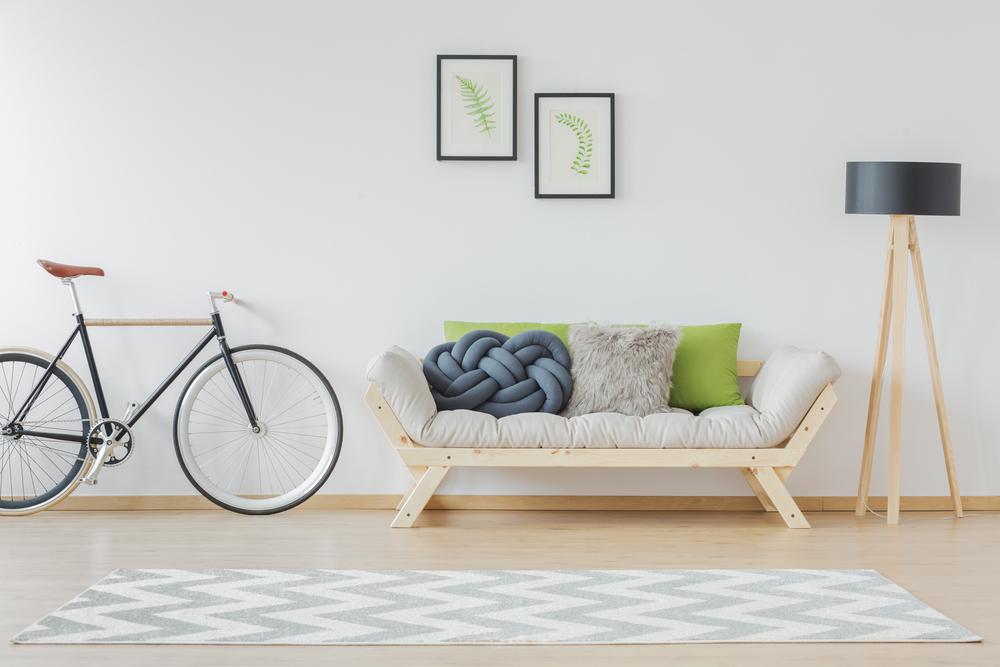 peintures en accord avec les sols et meubles