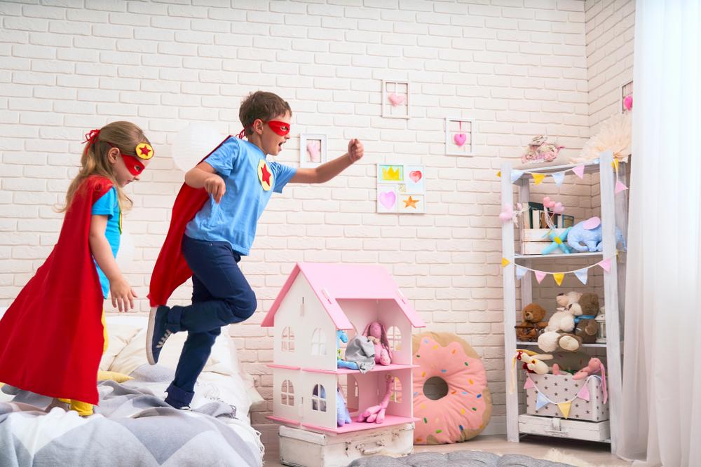 super-héro pour les chambres d'enfants
