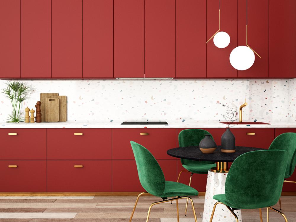 Votre cuisine prend des couleurs !